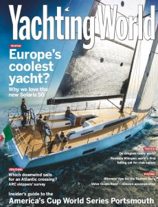 YACHTING WORLD_cover_August 2015
